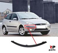 FOR FORD FOCUS 2002-2004 NEW FRONT BUMPER MOLDING TRIM RIGHT O/S BLACK