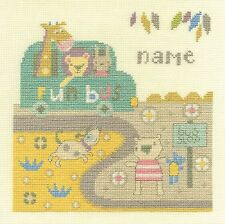 DMC BABY BUS STOP Cross Stitch Kit