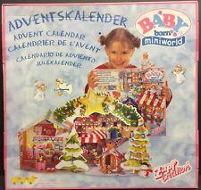 Zapf Miniworld Mini World Baby Born Advent Calendar Angel New