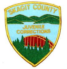 SKAGIT COUNTY – JUVENILE CORRECTIONS - WASHINGTON WA Sheriff Police Patch ~