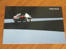 1997 Mazda 323 Protege original Australian 12 page brochure plus spec sheet