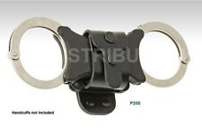 1 x Klick Fast Leather Handcuff Dock P200, Quick Cuff Speedcuff Security, Police