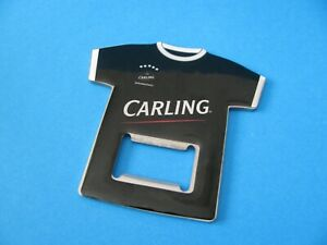 CARLING Black Label Beer Football Shirt Bottle Opener. Unused. VGC.
