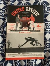 More details for manchester united last home game at old trafford before the munich disaster
