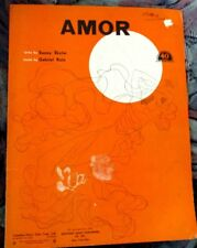 Amor by Sunny Skyler and Gabriel Ruiz Sheet Music 1943
