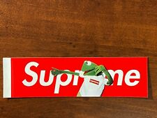 Supreme Kermit Red Box Logo Sticker