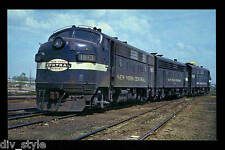 New York Central EMD F7A #1813 passenger diesel locomotive railroad  postcard