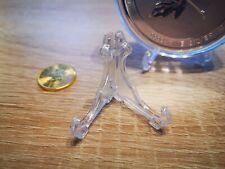 Acryl Münzständer Münzhalter Münzaufsteller Ständer Münzen 1-10 oz 42 mm Silber