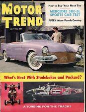 Motor Trend Magazine July 1956 Studebaker VG No ML 030117nonjhe