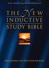 The New Inductive Study Bible by Precept Ministries International Staff...