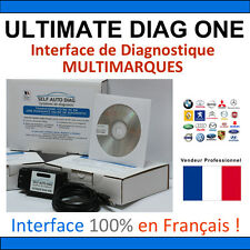 Valise Diagnostic PEUGEOT + MULTIMARQUES - ULTIMATE DIAG ONE - AUTOCOM CAN CLIP