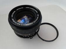 Rare! Minolta Celtic MC 35mm f:2.8 Wide Prime Lens with 1B Filter, 9++ No Rsrv!