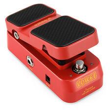 Donner 2 in 1 Vowel Mini Active Wah Volume Effect Guitar Pedal UK Stock