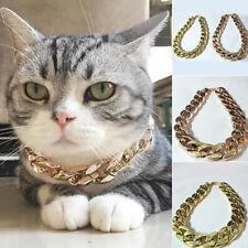 High Quality Aluminum Alloy Link Chain Necklace For Small Size Pet Fashion Style