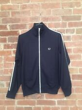 Vintage Fred Perry Track Jacket Mens Small Blue Portugal