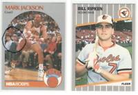 Menendez Brothers + Bill Ripken F@&K Face correction 616 Hoops Mark Jackson #205