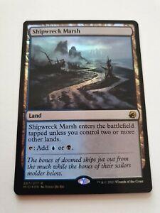 Foil Shipwreck Marsh (Innistrad: Midnight Hunt)