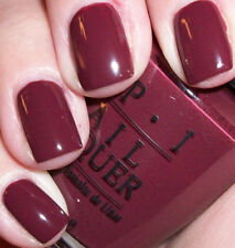 "OPI *RARE* Nail Polish  "" LIFE IS A CABERNET (AUTHENTIC Black Label ) "" RARE!!"