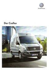 Prospekt / Brochure VW Crafter 11/2012