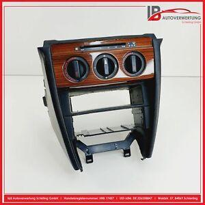 MERCEDES BENZ W201 190er Mittelkonsole Klimabedienteil Leder Holz ORIGINAL