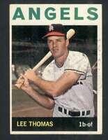 1964 Topps #255 Lee Thomas VGEX Angels 53458