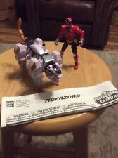 Bandai Power Rangers Zord Vehicle with Figure -Tigerzord with Red Ranger Action