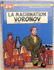 Blake et Mortimer La Machination Voronov EO 2000 Juillard