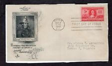 US FDC ArtCraft SC #971  VOLUNTEER FIREMAN ISSUE  OCT 4, 1948