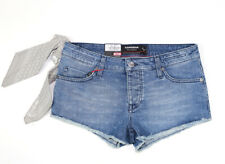 S+M+L+XL Damen Jeans Hotpants Destroyed Dirty-Hotpants Damenhotpans