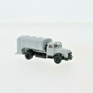 BREKINA 85625 Volvo N 88 Garbage Truck Gray, 1965, H0, New 2020