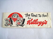 Great 1964 Advertising Hat for Kellogg's Cereal w Hanna-Barbera Yogi the Bear *