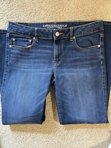 Ae American Eagle favorite Stretch Denim women jeans size 12