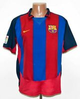BARCELONA 2003/2004 HOME FOOTBALL SHIRT JERSEY NIKE SIZE L ADULT