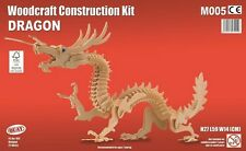 Dragon woodcraft construction kit-oriental 3D en bois modèle puzzle enfants/adultes