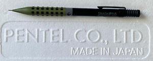 Pentel Smash Olive-Blk-Grey Q1005 Limited Edition Japan 0.5mm Mechanical Pencil