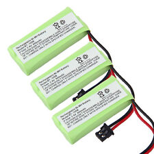 3Pcs Home Phone Battery For Uniden BT-1008 BT-1016 BT-1021 BT-1025 BT1021 BT1025
