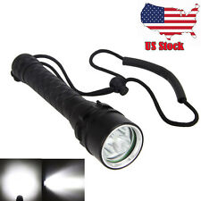 9000Lm 3x XM-L2 LED Underwarter 100m Scuba Diving Flashlight Fishing 18650 Torch