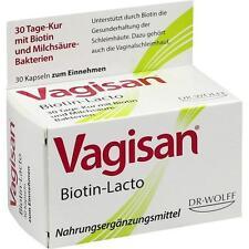 VAGISAN Biotin-Lacto Kapseln 30 St PZN 10795584