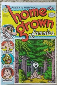 HOME GROWN FUNNIES NN 1ST PRINT NM- 9.2 KITCHEN SINK 1971