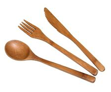 Totally Bamboo - Flatware Set (Set of 3) - 8 in