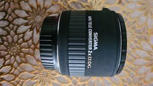 SIGMA EX DG 2x APO Tele Converter for Canon