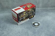 PlayStation Portable PSP-3000 Monster Hunter 3rd Black/Red Console boxed US Sell