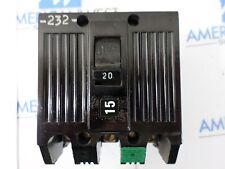 GE TQL32020  20 amp 3 pole plug in 240 VAC TQL circuit breaker GUARANTEED