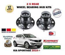 für Kia Sportage 1.6 GDI 1.7 CRDi 2010 > NEU 2x Hinterradlager+Radlager Set