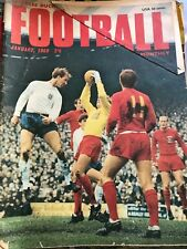 CHARLES BUCHAN FOOTBALL MONTHLY JANUARY 1968 MAGAZINE