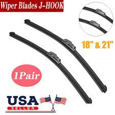 21amp 18real Quality Windshield Wiper Blades Beam Premium Hybrid Silicone J Hook