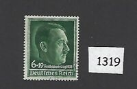 Very nice cancelled stamp / Adolph Hitler 1938 issue Nuremberg rally Third Reich