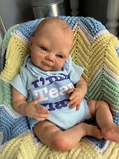 Ooak Reborn newborn baby boy reborn  Patrick   Art doll.
