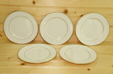 "Franciscan GOLD BAND (5) Dessert or Bread & Butter Plates, 6 3/8""  (Box #2)"