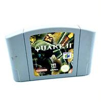 Quake II 2 Jeu Nintendo 64 N64 FPS Cartouche seule PAL EUR